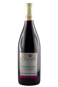 Spätburgunder Quality wine b.A. sweet