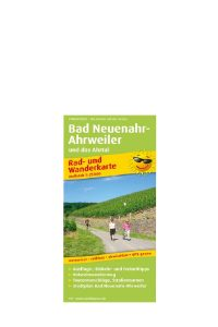 Bicycling and hiking map Bad Neuenahr-Ahrweiler and the Ahr Valley