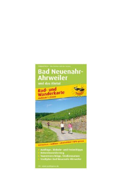Rad- u. Wanderkarte Bad Neuenahr-Ahrweiler und das Ahrtal