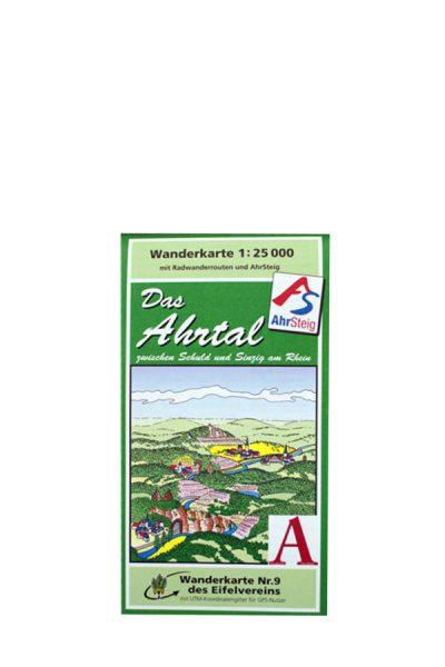 "Literatuur - Wandelkaarte ""Das Ahrtal"""